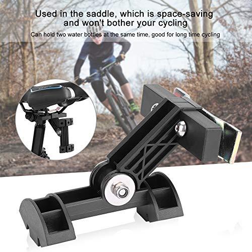 Semine 1 Stück Doppel Fahrrad Wasserkocher Verlängerung Käfig Unterstützung Adapter Fahrrad Lenker Sattel verschleißfesten Flaschenhalter