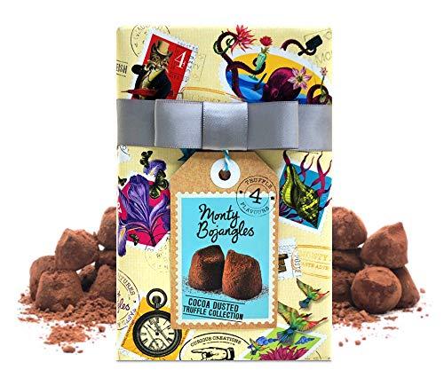 Monty Bojangles French Cocoa Dusted Truffles in geschenkverpakking, 190 g, veelkleurig
