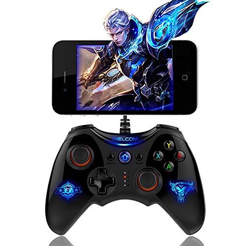 L&WB PG Batman Gaming Bluetooth 2.4G Manette sans Fil Manette De Jeu Joystick pour PS3 Téléphone Android Tablet PC Ordinateur