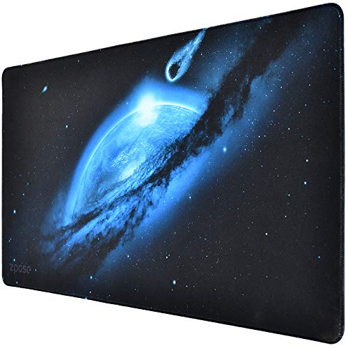 Large Mouse Pad, Zpose Mouse Pad Gaming, XXL Large Mouse Pad 31.5 x 15.75In, Large Extended Gaming Keyboard Mouse Pad, Large Gaming Mouse Pad with Nonslip Base, Desk Pad Keyboard Mat for Gamer