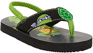 Tennage Mutant Ninja Turtles Toddler Boys' Beach Flip Flop