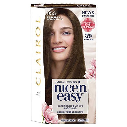 Clairol Nice'n Easy Permanent Hair Color, 10A Extra Light Ash Blonde, Pack of 1