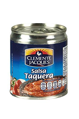 Salsa Taquera CLEMENTE JACQUES -- Taquera Scharfe Gewürzsoße, Glas 210g