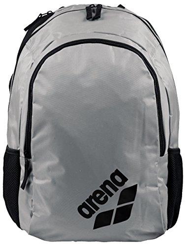 ARENA Unisex-Erwachsene Spiky 2 Tasche, Silber (Silver/Team), 36x24x45 Centimeters (W x H x L)