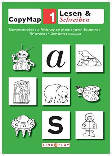 CopyMap 1: Übungsmaterialien zur Förderung der phonologischen Bewusstheit 1: Lesen & Schreiben - Für Vorschule und 1. Klasse