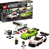 LEGO- Speed Champions Porsche RSR e Turbo, Multicolore,...