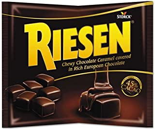 Riesen 035926 Chewy Chocolate Caramel, 9 oz, Bag