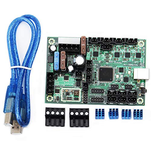 Xigeapg 1PC 10-28V -Rambo 1.3 Control Board Set Kit 3D Printer Part for Prusa MK2