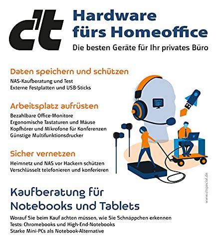 c't Hardware fürs Homeoffice: Die besten Geräte für Ihr privates Büro