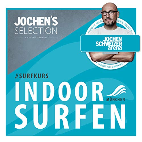 Jochen Schweizer Arena Indoor Surf-Kurs I Surf Gutschein Anfänger I Erlebnis-Box Indoor-Surfen I Wellenreiten für Beginner I Erlebnis-Gutschein Surfen für Anfänger I Surfen Geschenk-Box
