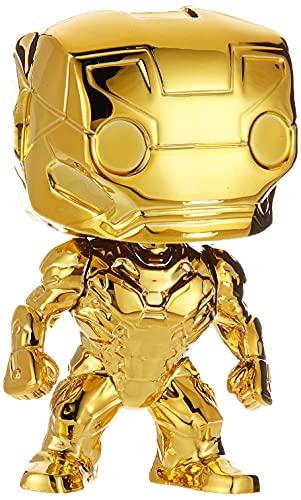 Funko Pop Marvel Chrome Iron Man Nc Games Padrão