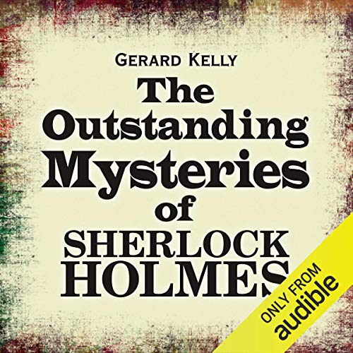 The Outstanding Mysteries of Sherlock Holmes audiobook cover art