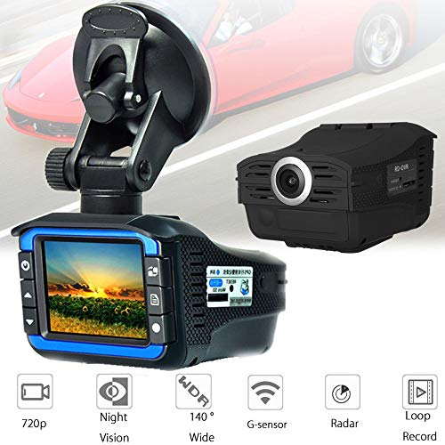 Fantastic Prices! MeterMall 720P Driving Recorder Car Electronic Dog Mobile Speed Car Radar Speedome...