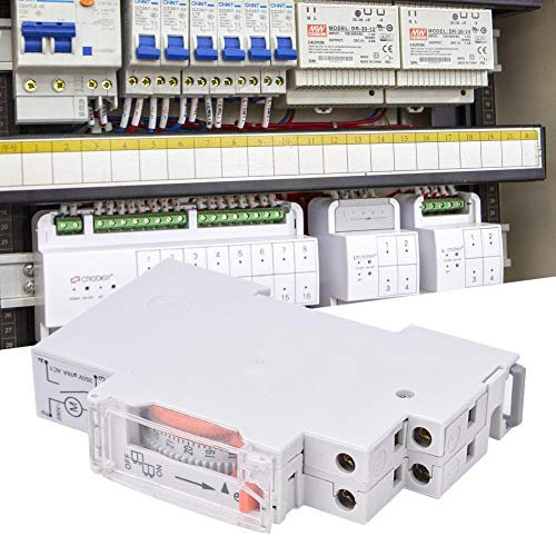 Th-182 Railtype Tijdregelaar, Timer Din Rail Microcomputer Tijdregeling Mechanische apparatuur TH-182 AC220V 50/60Hz - Mechanische Din Railapparatuur
