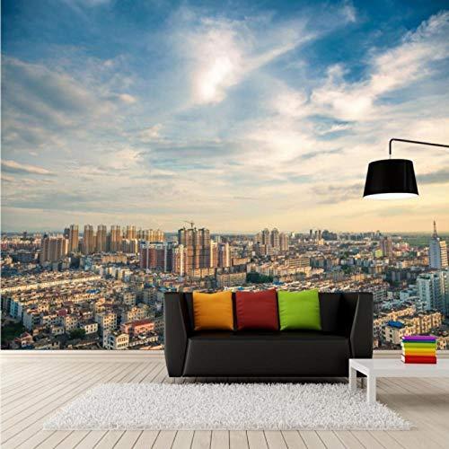 Arquitectura Urbana Mural De Gran Altura, Tv Wall Living Roomwall Arte Decoración Para El Hogar Fondos De Pantalla Papel De Parede Fresco-A2