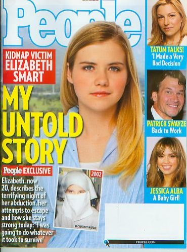 People June 23 2008 Elizabeth Smart; Tatum O'Neal; Patrick Swayze; Jessica Alba