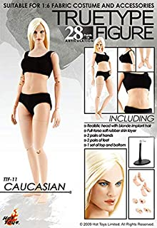 Hot Toys True Type 1/6 Scale Action Figure Body:New Generation-Caucasian Female