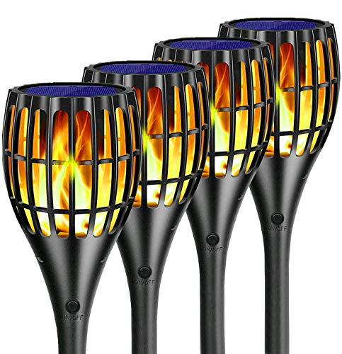 Solar Torch Lights Upgraded , Water…
