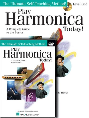 Play Harmonica Today! Beginner s Pack: Level 1 Book Online Audio DVD Pack (Beginner s Packs)