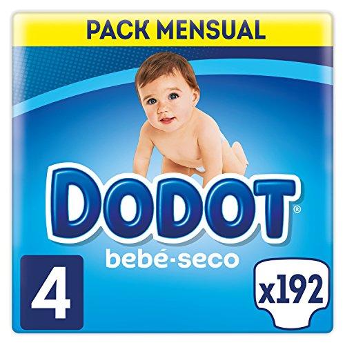 Dodot, Talla 4, 192 pañales