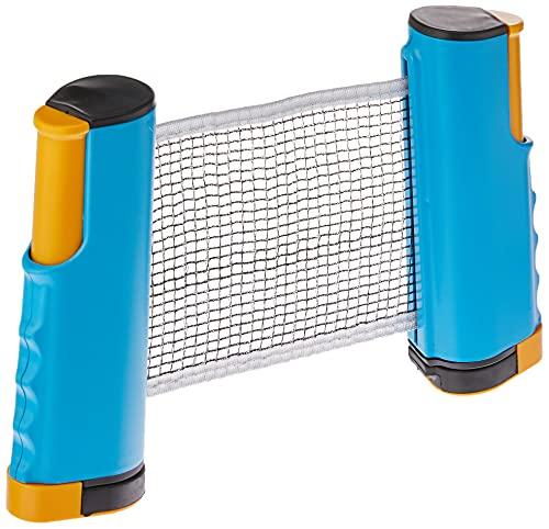 Rede Retrátil Ping Pong 1,67 Metros Tênis Mesa Universal AZULC/AMARELO