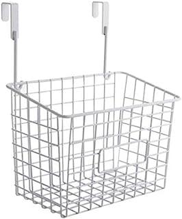 [えみり] 収納ラック 浴室用 ステンレス製 キッチン用品 掛けラック 吊り棚 バスケット 省スペース 調味料入れ バスルーム用 多機能 (ホワイトA)