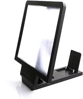 comprar comparacion Socialism Amplificador de Pantalla de Video portátil en 3D Plegable Ampliador Ampliador Soporte Soporte - Negro