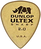 Dunlop 433P2.0 Ultex Sharp, 2.0mm, 6/Player's Pack