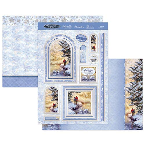 Hunkydory Crafts Christmas 2020 WInter WIshes- Walking into Winter SNOWY20-909