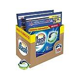 Dash Pods Allin1 - Detergente para lavadora en cápsulas regulares, Maxi formato de 54 x 2 unidades, 108 lavados