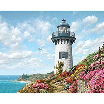 """Amazon - 65% Off on  DIY Paint by Numbers Acrylic Painting Kit for Kids & Adults 16"""" x 20"""" Arts Craft"""