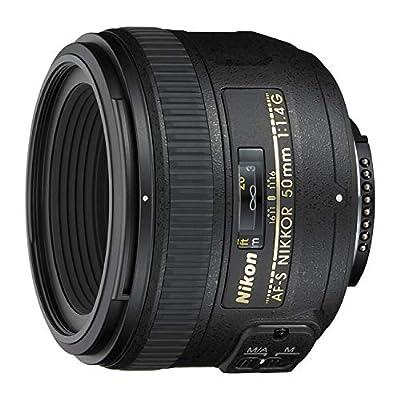 Nikon 50mm f/1.4G SIC SW AF-S Nikkor Lens for Nikon Digital SLR Cameras from Nikon