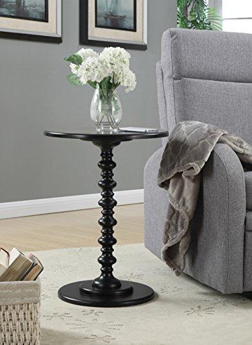 Convenience Concepts Palm Beach Spindle Table, Black
