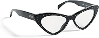 Moschino Cat Eye Sunglasses for Women - Clear Lens (MCE Clear)