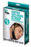 Copper Anti Snore Chin Strap for Snoring Set of 2