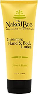 The Naked Bee Moisturizing Hand & Body Lotion, 6.7 Fl Oz, Citron & Honey