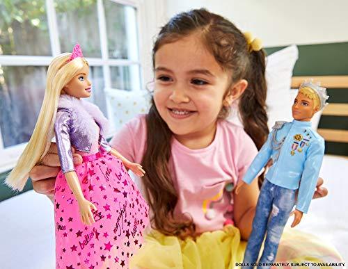Barbie - Princess Adventure, Principe Ken, Muñeco para niñas y niños (Mattel GML67)