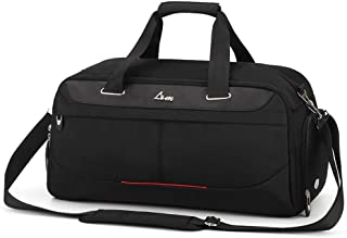 Business Travel Bag Gym Bag with Shoes Compartment and Wet Dry Storage Waterproof and Durable Duffel Bag Roof Top Rack Bag for Men