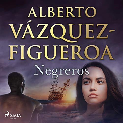 Diseño de la portada del título Negreros