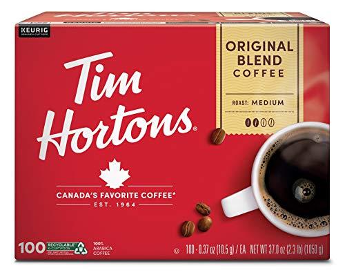 Tim Hortons Tim Hortons Original Blend Coffee (100 X 0.37 Ounce )Total Net Wt (37.0 Ounce ),, ()