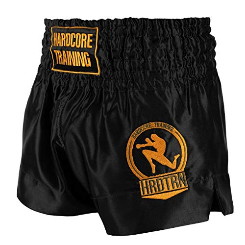Hardcore Training Classi? Black White Blue Red Camo Muay Thai Kurze Hose Herren Schwarz Weiß Rot Blau Camo Thaiboxen Shorts MMA Kampf Kickboxen Sparring Boxen