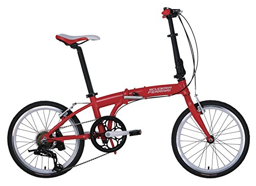 Ferrari Foldable Bicycle Series Alloy 7 Speed Foldable Bike With 20 Inch Sram Wheels Buy Online In Mongolia At Mongolia Desertcart Com Productid 27477189