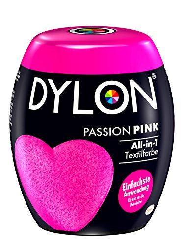 DYLON Passion Pink All-in-1 Textilfarbe (für frische und intensive Farben) 1 x 350 g