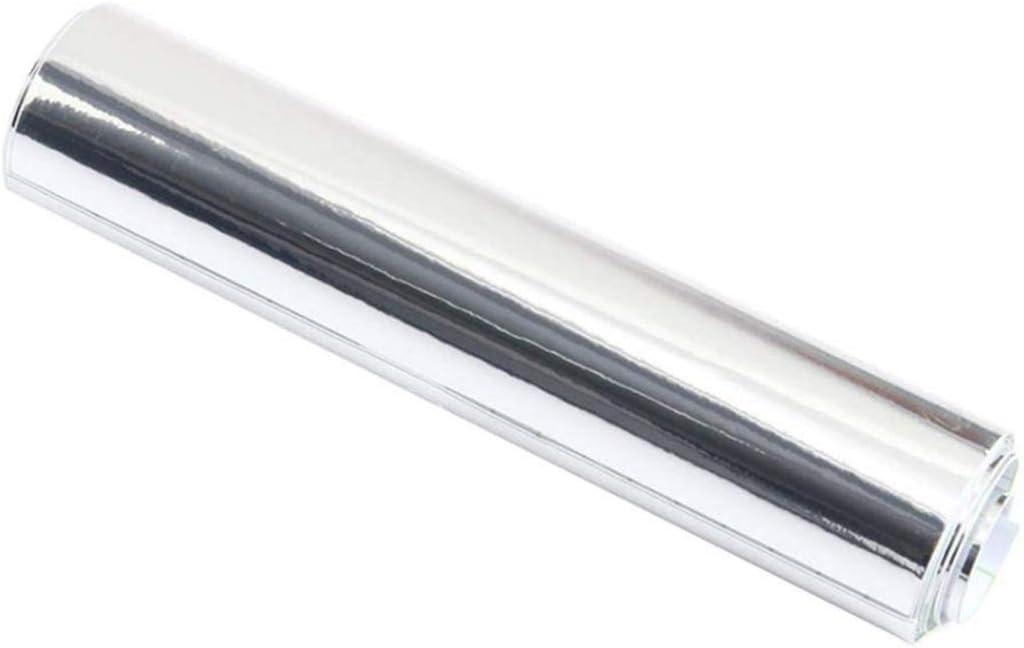 UPREDO Adhesive Super-cheap Craft Vinyl Reflective Gloss Long Beach Mall Wrap Chrome Silver