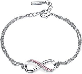 Mestige Bracelet with Swarovski Crystals for Women, MFBR1000