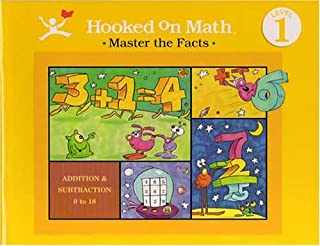 Hooked on Math (Masters the Facts [includes audio tapes], Levels 1 - 4)