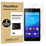 PHONILLICO [Pack de 2] Verre Trempe Sony Xperia M4 Aqua - Film Protection Ecran Verre Trempe [Lot de...