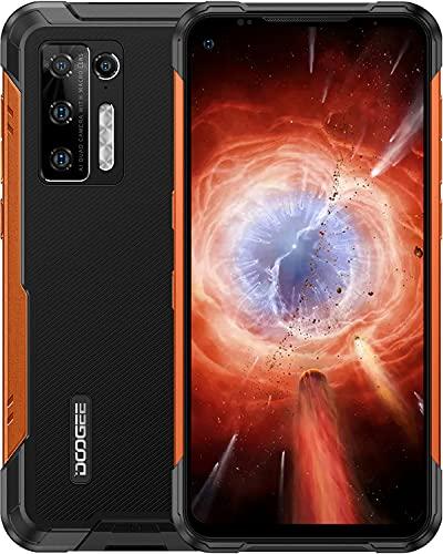 DOOGEE S97 Pro Rugged Smartphone[2021], 40m Telemetro, 8500mAh Grande Batteria, 8GB +128GB, Fotocamera AI da 48MP, 4K Video Registrazione, Andriod 11 4G Dual SIM Telefono Cellulare, IP68 IP69K,Arancia