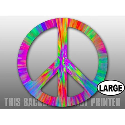 VW PEACE VINYL Decals Sticker  BUY 2 GET 1 FREE