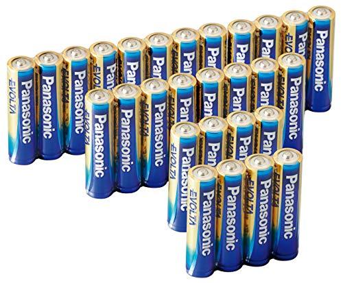 【Amazon.co.jp限定】 パナソニック エボルタ 単4形アルカリ乾電池 28本パック LR03EJA/28SV